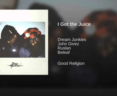 I GOT THE JUICE-JOHN GIVEZ